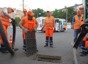 В Краснодаре создали службу по расчистке сети ливневой канализации