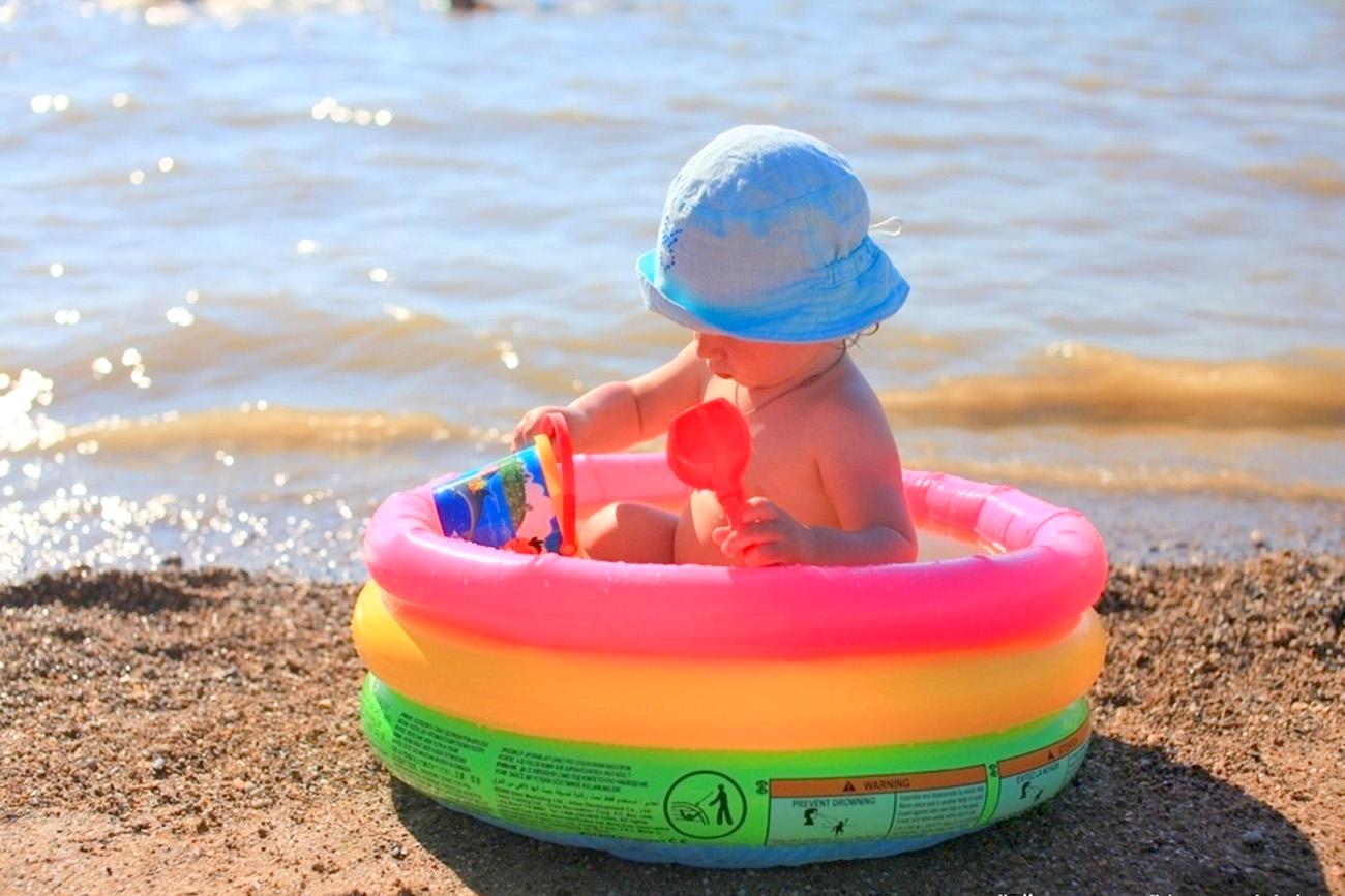 Детский пляж «Меляки», город Ейск