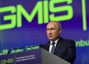 Владимир Путин выступил на Глобальном саммите по производству и индустриализации