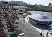 Роспотребнадзор проверил воду на пляжах в районе Суджукской лагуны после аварии