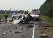На Кубани в ДТП с фурой и двумя иномарками погибли два человека