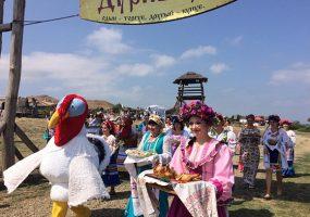 В фестивале «Кубанская индюшка» в «Атамани» приняли участие более 4 тыс. человек