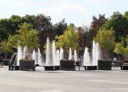 В День ВДВ в Краснодаре отключат воду в фонтанах