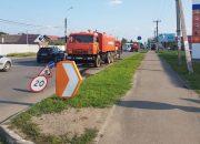 В Краснодаре на улице Российской прочистят ливневку, забитую грязью