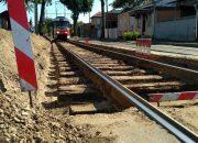 В Краснодаре изменят маршруты трамваев из-за ремонта путей на Дмитриевской дамбе
