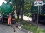 В Краснодаре от грязи и ила прочистили 2,4 км сетей ливневой канализации