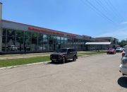 В Краснодаре убрали рекламу с фасада торгового центра на Ростовском шоссе
