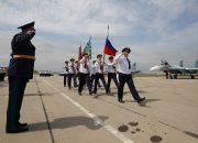 На Кубани более 200 военнослужащих авиационных частей ЮВО приняли присягу