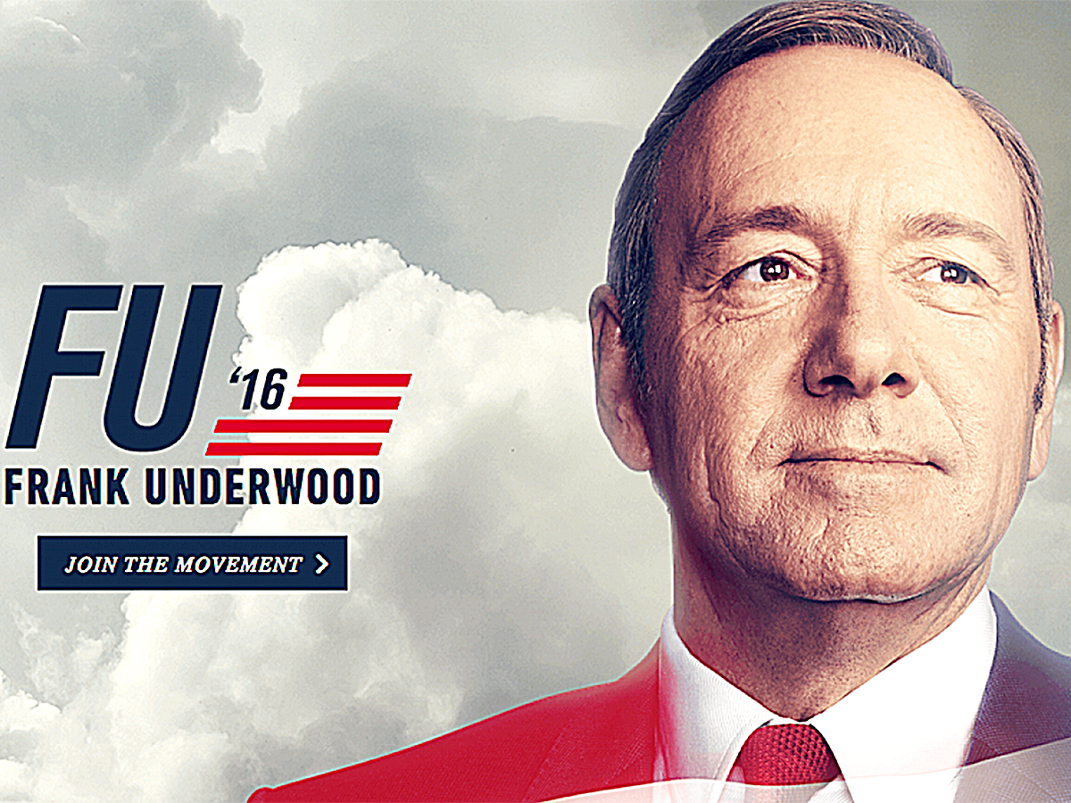 «Карточный домик»: make Underwood great again