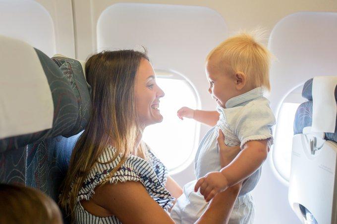 помочь ребенку перенести перелет