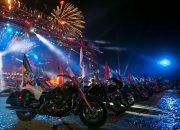 Около 200 кубанцев приняли участие в юбилейном байк-шоу в Крыму