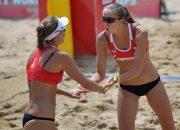 Кубанская волейболистка одержала первую победу на ЧЕ по пляжному волейболу