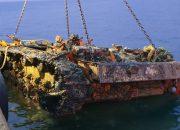 Новороссийские водолазы в Крыму подняли немецкую бронетехнику