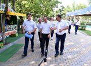 Вениамин Кондратьев провел рабочий день в Кореновском районе