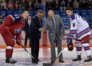 Путин и Медведев на Кубке мира в Сочи в раздевалке поздравили «Локо»