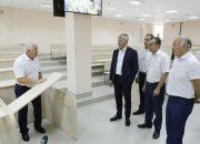 Кондратьев и министр спорта РФ Колобков посетили университет физкультуры