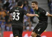 ФК «Краснодар» на выезде обыграл «Порту» и вышел в раунд плей-офф ЛЧ