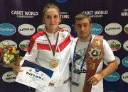 Кубанская спортсменка победила в первенстве мира по женской борьбе