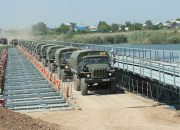 На Кубани военнослужащие на учениях возведут мост через реку Лаба