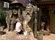 В Усть-Лабинске в музее приступили к реставрации деревянных скульптур