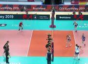 Российские волейболистки сыграют против сборной Испании на чемпионате Европы