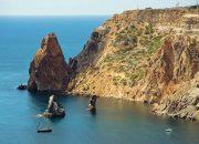 В Крыму два жителя Кубани упали со скалы на мысе Фиолент