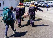 В Сочи вертолетом эвакуировали девушку, которую укусила гадюка