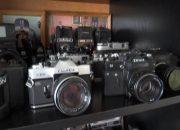 Житель станицы Каневской собрал коллекцию пленочных фотоаппаратов