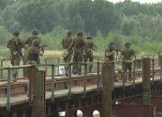 На Кубани прошли учения железнодорожных войск ЮВО