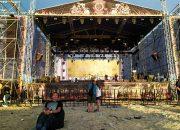 На Кубани из-за шторма прервали байк-фестиваль