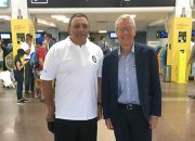 Игроки и тренер РК «Кубань» встретились с послом Новой Зеландии в России
