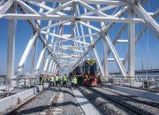 Поезда по Крымскому мосту пустят по графику