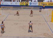 Кубанская пляжная волейболистка завершила выступление на групповом этапе ЧЕ