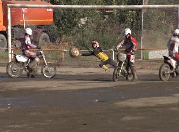 В Красноармейском районе прошло первенство страны по мотоболу