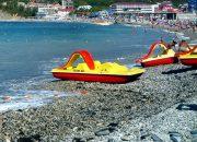 В Анапе из-за ветра запретили выходить в море на матрасах и катамаранах