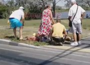 В Анапе на пешеходном переходе машина сбила двоих мальчиков