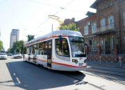 Новый трамвай в Краснодаре