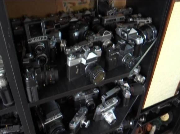 Житель Каневской собрал коллекцию пленочных фотоаппаратов