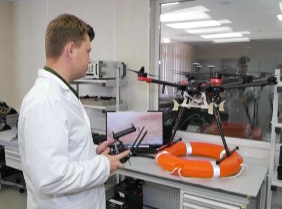 В Анапе в технополисе «Эра» разработали дрон для помощи утопающим