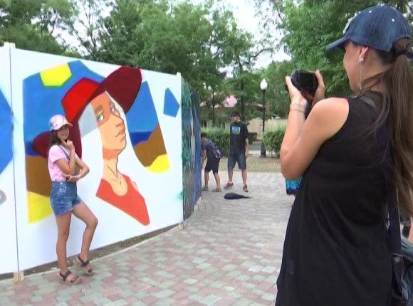 Как в Ейске прошел фестиваль граффити