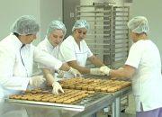 В Динском районе открыли кондитерский цех по производству печенья