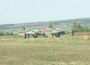 Штурмовики Су-25СМ3 ЮВО совершили посадку рядом с трассой М4 «Дон»