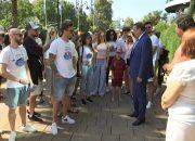 В Сочи конкурсанты «Новой волны» заложили памятную звезду