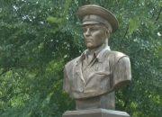 В Кропоткине установили памятник герою Советского Союза Василию Маргелову