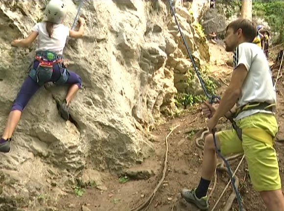 В Апшеронском районе завершился фестиваль скалолазания «Гуамка-2019»