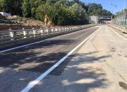 В Сочи открыли движение по пострадавшей от оползня дороге