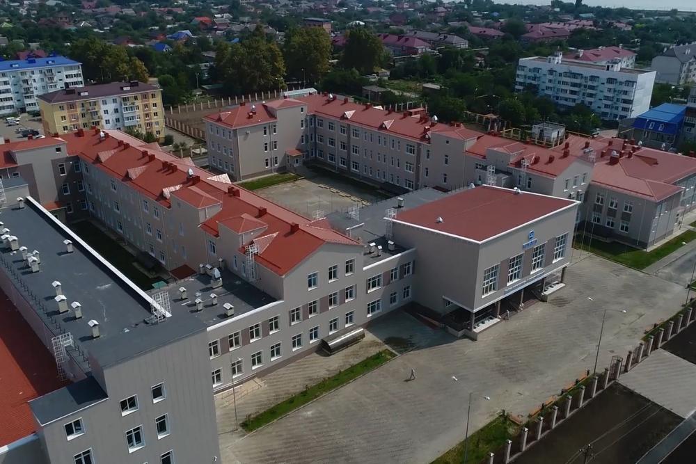 Школа на 1000 мест в одну смену в х. им. Ленина по ул. Наримановской