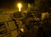 После ДТП на перевале под Новороссийском задержали водителя автобуса