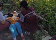 В Новороссийске спасатели эвакуировали женщину с горы Колдун