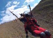 Дима Билан в Сочи полетал на параплане